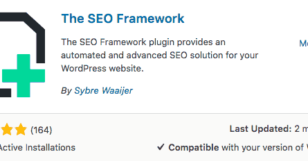 The SEO Framework